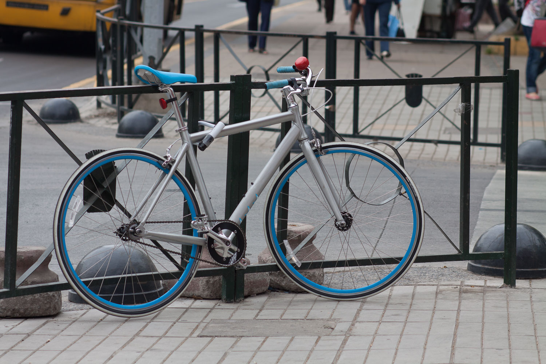 Estacionando tu bicicleta