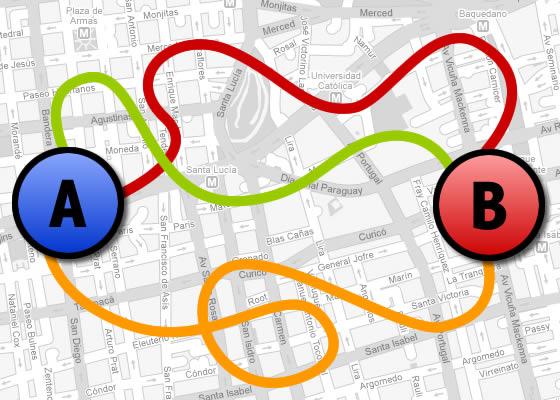 Eligiendo la ruta bicivil zate for Como llegar al ministerio del interior