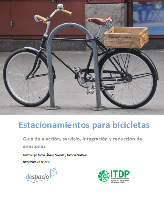 Nueva guia para el estacionamiento de bicicletas