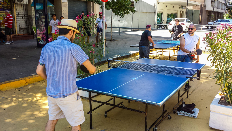 Ping-Pong callejero