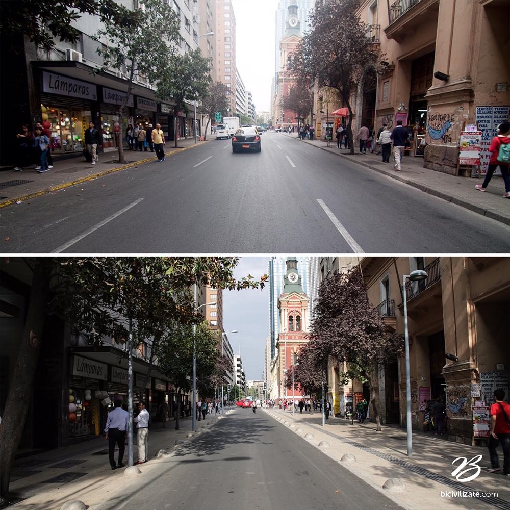 La transformación de calles Compañía y San Antonio